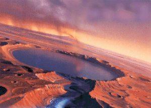 Из марсианской соленой воды можно будет получить кислород и водород 2