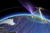 Как отслеживаются суда на карте мира работа спутника ESAIL