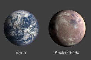 Kepler-1649c планета-близнец Земли
