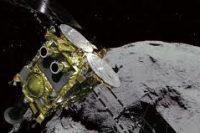 Космический груз взята проба грунта с астероида