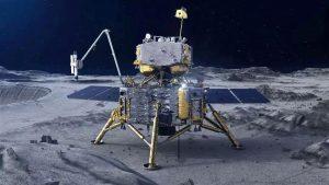 На Луне начинает работу китайский космический зонд 2
