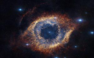 Необычный космос – исчезающая туманность