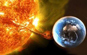 Одна из сильнейших вспышек на Солнце за последние три года удалось зафиксировать явление