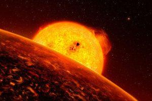 Раскаленные лавовые планеты сверхзвуковые ветра и осадки из камней