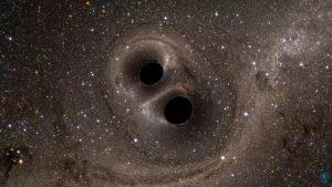 Уникальное космическое явление – столкновение черных дыр