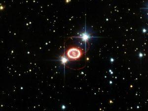 В соседней галактике найдены остатки от взрыва сверхновой 2