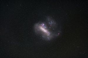 В соседней галактике найдены остатки от взрыва сверхновой