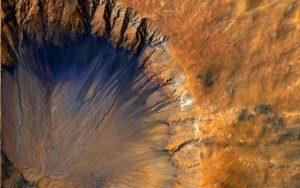 Вечный шторм «Гектор» вид из космоса